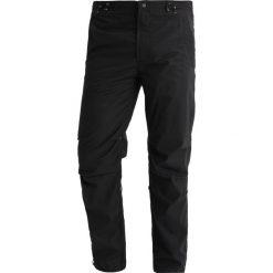 Chinosy męskie: Maharishi ORIGINAL SNOPANTS STRAIGHT FIT Spodnie materiałowe black