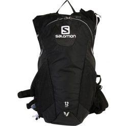 Salomon AGILE 12 SET Plecak black/iron/white. Czarne plecaki damskie Salomon. W wyprzedaży za 293,30 zł.