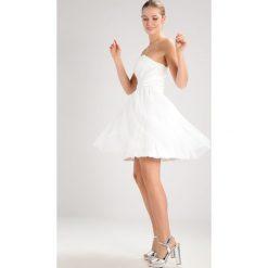 Laona Sukienka koktajlowa cream white. Białe sukienki koktajlowe marki Laona, z materiału. W wyprzedaży za 460,85 zł.