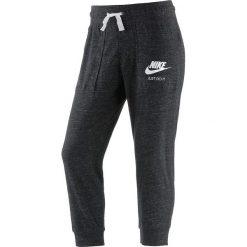 """Spodnie dresowe damskie: Spodnie dresowe """"Gym Vintage"""" w kolorze czarnym"""