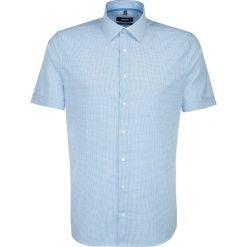 Koszule męskie na spinki: Koszula – Tailored – w kolorze turkusowo-białym