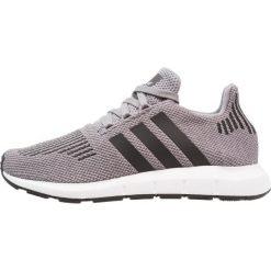 Adidas Originals SWIFT RUN Tenisówki i Trampki grey three/core black/medium grey heather. Szare tenisówki damskie marki adidas Originals, z materiału. W wyprzedaży za 341,10 zł.