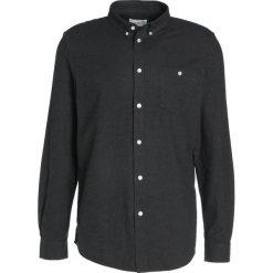 Koszule męskie na spinki: We are Cph DAVY Koszula black melange