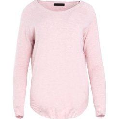 Swetry klasyczne damskie: Jasnoróżowy Sweter Mad