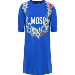 Odzież damska: Love Moschino Sukienka z dżerseju blue