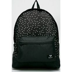 Roxy - Plecak. Czarne plecaki damskie Roxy, z materiału. W wyprzedaży za 129,90 zł.