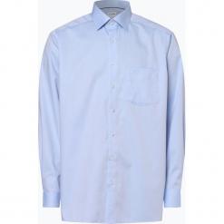 OLYMP Luxor comfort fit - Koszula męska – niewymagająca prasowania, niebieski. Niebieskie koszule męskie na spinki marki OLYMP Luxor comfort fit, m. Za 229,95 zł.