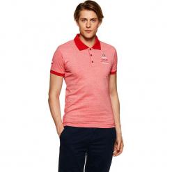 Koszulka polo w kolorze czerwonym. Czerwone koszulki polo Vistula, l, z haftami. W wyprzedaży za 79,95 zł.