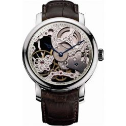 Zegarki męskie: Zegarek męski Big Mechanical Skeleton Aerowatch Renaissance 57931.AA01