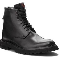 Kozaki STRELLSON - Nimo Nico 4010002503 Black 900. Czarne buty zimowe męskie Strellson, z materiału. Za 639,00 zł.