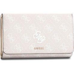 Duży Portfel Damski GUESS - SWSG68 65450 SAN. Czerwone portfele damskie Guess, z aplikacjami, ze skóry ekologicznej. Za 279,00 zł.