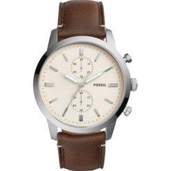 Fossil - Zegarek FS5350. Różowe zegarki męskie marki Fossil, szklane. Za 699,90 zł.
