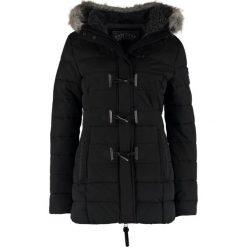 Superdry Parka black. Czarne parki damskie marki Superdry, xl, z bawełny. W wyprzedaży za 519,20 zł.