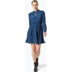 Tommy Hilfiger - Sukienka damska, niebieski. Niebieskie sukienki z falbanami marki TOMMY HILFIGER, z falbankami. Za 499,95 zł.