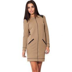 Odzież damska: Sukienka Kartus w kolorze beżowym