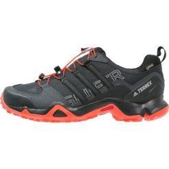 Adidas Performance TERREX SWIFT GTX Obuwie hikingowe core black/energy. Czarne buty sportowe męskie adidas Performance, z materiału, outdoorowe. W wyprzedaży za 439,20 zł.
