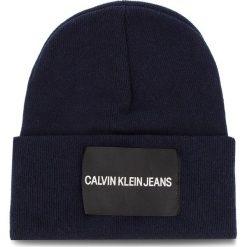 Czapka CALVIN KLEIN JEANS - J Calvin Klein Jeans K40K400759 450. Niebieskie czapki damskie marki Calvin Klein Jeans, z jeansu. Za 179,00 zł.