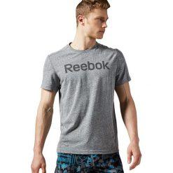 Reebok Koszulka męska Elements Big Logo Tee czarna r. M (AY1593). Czarne t-shirty męskie Reebok, m. Za 85,55 zł.