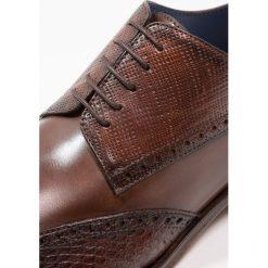 Buty wizytowe męskie: Brett & Sons Eleganckie buty cognac/jonu