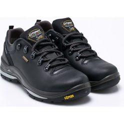 Grisport - Buty Nero Dakar. Czarne buty trekkingowe męskie Grisport, na zimę, z materiału, na sznurówki, outdoorowe. W wyprzedaży za 349,90 zł.