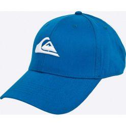 Quiksilver - Czapka. Białe czapki z daszkiem męskie Quiksilver. W wyprzedaży za 69,90 zł.