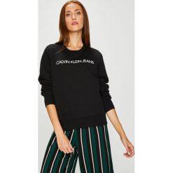 Calvin Klein Jeans - Bluza. Szare bluzy rozpinane damskie Calvin Klein Jeans, m, z nadrukiem, z bawełny, bez kaptura. Za 359,90 zł.