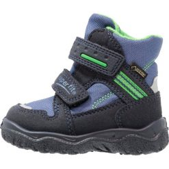 Superfit HUSKY1 Śniegowce ocean/multicolor. Niebieskie buty zimowe chłopięce marki Superfit, z materiału. W wyprzedaży za 174,85 zł.