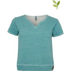 """T-shirty damskie: Koszulka """"Mari"""" w kolorze turkusowym"""