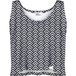 Colour Pleasure Koszulka damska CP-035 169 czarno-biała r. XS-S. Fioletowe bluzki damskie marki Colour pleasure, uniwersalny. Za 64,14 zł.