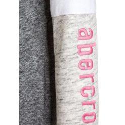 Abercrombie & Fitch COLORBLOCKED CORE FULLZIP Bluza rozpinana dark grey/light grey. Szare bluzy dziewczęce rozpinane Abercrombie & Fitch, z bawełny. W wyprzedaży za 159,20 zł.