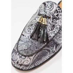 Chodaki damskie: Melvin & Hamilton SCARLETT Klapki carbon/black/gold
