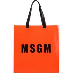 MSGM Torba na zakupy neon orange. Brązowe torebki klasyczne damskie MSGM. W wyprzedaży za 547,60 zł.