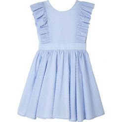 Sukienki dziewczęce wizytowe: Sukienka wieczorowa, haft atłaskowy 3-12 lat