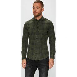Only & Sons - Koszula. Czarne koszule męskie na spinki marki Only & Sons, l, w kratkę, z bawełny, z klasycznym kołnierzykiem, z długim rękawem. Za 149,90 zł.