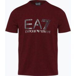 EA7 Emporio Armani - T-shirt męski, czerwony. Czerwone t-shirty męskie z nadrukiem marki EA7 Emporio Armani, l. Za 229,95 zł.