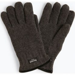 James - Rękawiczki męskie, szary. Szare rękawiczki męskie James, z materiału. Za 99,95 zł.
