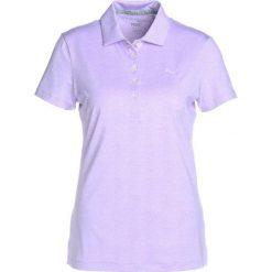 Topy sportowe damskie: Puma Golf MICRO FLORAL Koszulka sportowa purple rose
