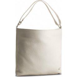 Torebka CARRA - EC404/3 Beż. Brązowe torebki klasyczne damskie marki Carra, ze skóry, duże. W wyprzedaży za 379,00 zł.