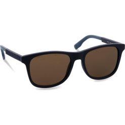 Okulary przeciwsłoneczne BOSS - 0281/S Blue PJP. Niebieskie okulary przeciwsłoneczne męskie aviatory Boss, z tworzywa sztucznego. W wyprzedaży za 399,00 zł.
