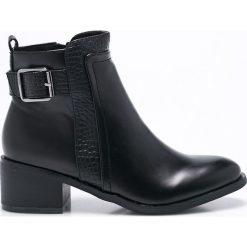 Corina - Botki. Szare buty zimowe damskie marki Palladium, z materiału. W wyprzedaży za 99,90 zł.