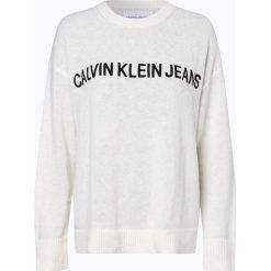 Calvin Klein Jeans - Sweter damski z dodatkiem alpaki, czarny. Czarne swetry klasyczne damskie Calvin Klein Jeans, s, z jeansu. Za 529,95 zł.