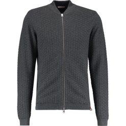 Kardigany męskie: Knowledge Cotton Apparel CHECK Kardigan dark grey
