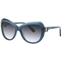 """Okulary przeciwsłoneczne damskie aviatory: Okulary przeciwsłoneczne """"SR7697F15"""" w kolorze niebieskim"""