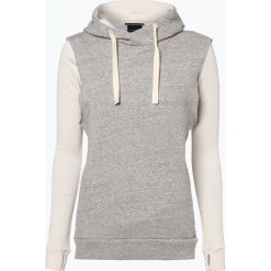 Bluzy damskie: Scotch & Soda - Damska bluza nierozpinana z koszulką z długim rękawem, szary