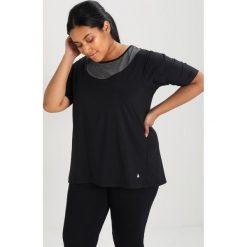 Topy sportowe damskie: Raiski KAMI R+  Tshirt basic black