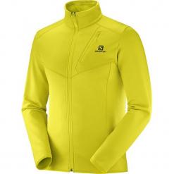Salomon Bluza Męska Discovery Fz M Sulphur Spring Heath Xl. Żółte bluzy męskie rozpinane Salomon, m. Za 345,00 zł.