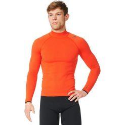 Adidas Koszulka Techfit Heat Long Sleeve Mock pomarańczowa r. XL (AY3765). Białe t-shirty męskie marki Adidas, m. Za 269,00 zł.