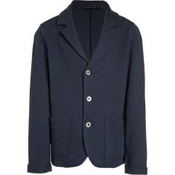 Swetry chłopięce: Sisley JACKET Kardigan dark blue