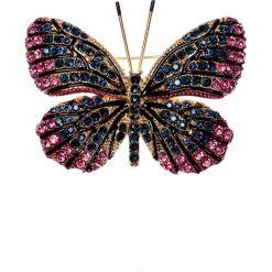 Apaszki damskie: Broszka motyl  QUIOSQUE