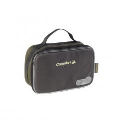 Torebka na ciężarki karpiowe. Brązowe torebki klasyczne damskie CAPERLAN, z materiału. Za 39,99 zł.